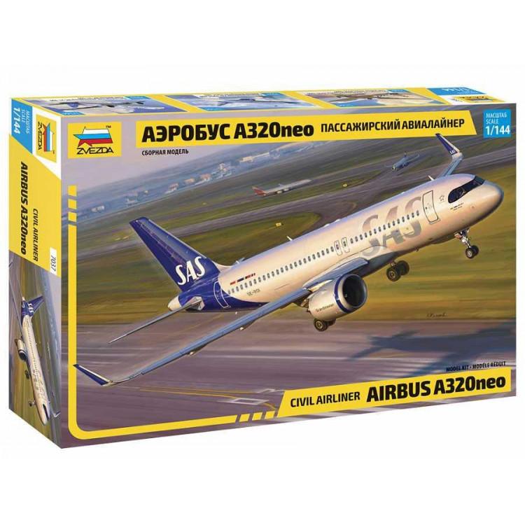 Model Kit letadlo 7037 - Airbus A320 NEO (1:144)
