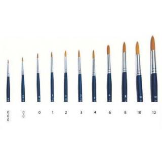 Brush Synthetic Round  51202 - kulatý syntetický štětec (velikost 00)