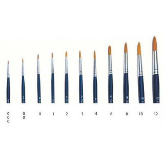 Brush Synthetic Round  51211 - kulatý syntetický štětec (velikost 8)