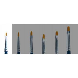 Brush Synthetic Flat - SINGLE PACK 52221 - plochý syntetický štětec (velikost 000)