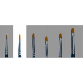 Brush Synthetic Flat - SINGLE PACK 52222 - plochý syntetický štětec (velikost 00)