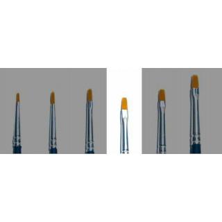 Brush Synthetic Flat - SINGLE PACK 52224 - plochý syntetický štětec (velikost 1)