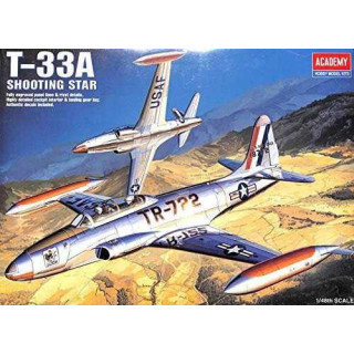 Model Kit letadlo 12284 - T-33A SHOOTINGSTAR (1:48)