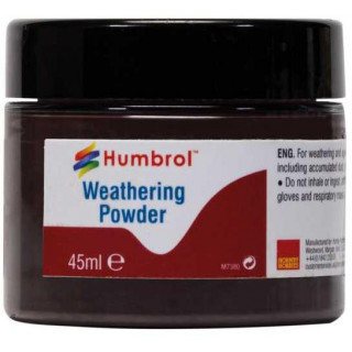 Humbrol Weathering Powder Black AV0011 - pigment pro efekty 45ml