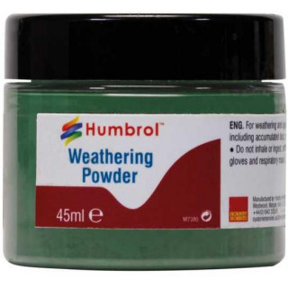 Humbrol Weathering Powder Chrome Oxide Green AV0015 - pigment pro efekty 45ml