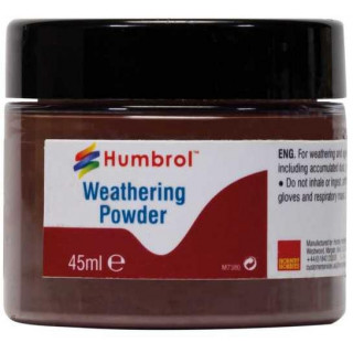 Humbrol Weathering Powder Dark Earth AV0017 - pigment pro efekty 45ml