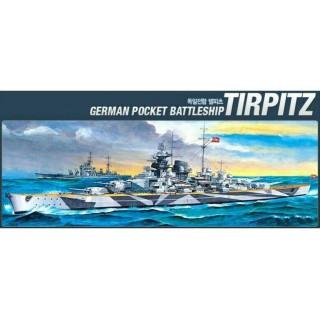 Model Kit loď 14219 - BATTLESHIP TIRPITZ (STATIC) (1:800)