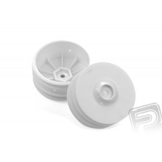 WHEEL RIM FRONT: 14mm HEX WHITE