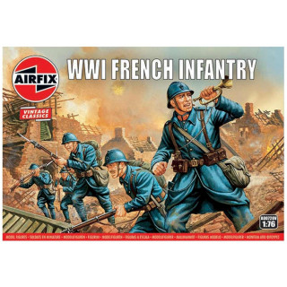 Classic Kit VINTAGE figurky A00728V - WW1 French Infantry (1:76)