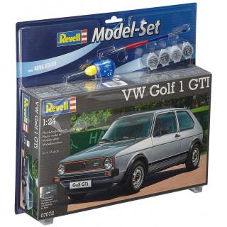 ModelSet auto 67072 - VW Golf 1 GTI (1:24)