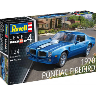 Plastic ModelKit auto 07672 - 1970 Pontiac Firebird (1:25)