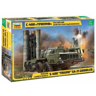 "Model Kit military 5068 - S-400 ""Triumf"" Missile System (1:72)"
