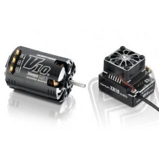COMBO XR10 PRO černý s XERUN V10 17,5T závitů - G2 - černý