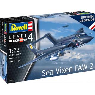 """Plastic ModelKit letadlo 03866 - Sea Vixen FAW 2 """"70th Anniversary"""" (1:72)"""