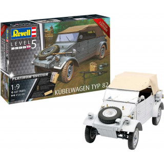Plastic ModelKit military Limited Edition 03500 - Kübelwagen Typ 82 Platinum Edition (1:9)