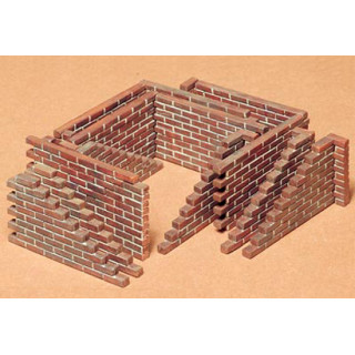 Tamiya Brick Wall Set 1/35