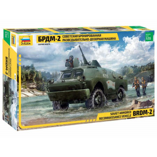 Model Kit military 3638 - BRDM-2 Russian Armored Car (1:35)