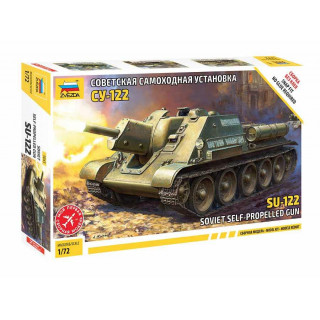 Model Kit tank 5043 - SU-122 Soviet Tank Destroyer (1:72)
