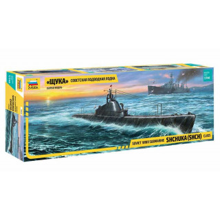 "Model Kit ponorka 9041 - ""Shchuka"" Class Russian Submarine WWII (1:144)"