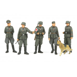 Tamiya WWII German Field Police set 1/35