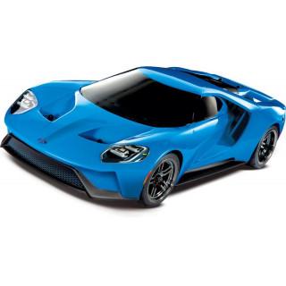 Traxxas Ford GT 1:10 TQi RTR Grabber modrý