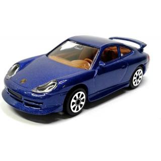 Bburago Porsche 911 Carrera 4 1:43 modrá