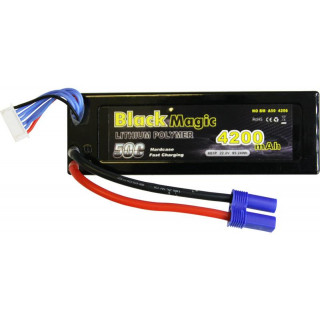 Black Magic LiPol Car 22.2V 4200mAh 50C EC5