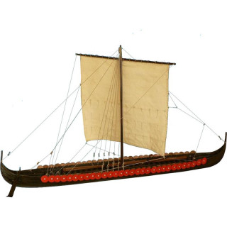 Dušek Vikingská prodloužená loď 1060 1:35 kit