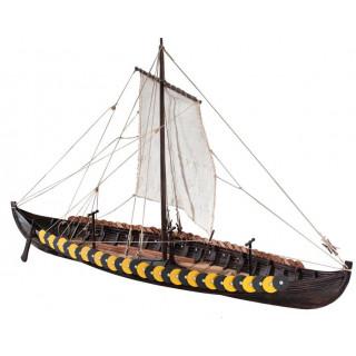 Dušek Vikingská loď Gokstad 1:35 kit