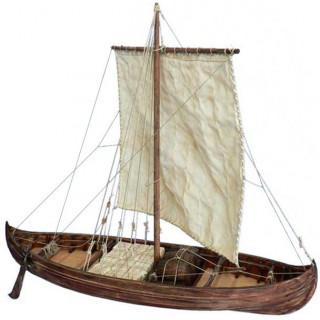 Dušek Vikingská loď Knarr 1:35 kit