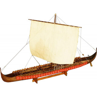 Dušek Vikingská prodloužená loď 1:72 kit