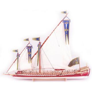 Dušek La Real Galeere 1571 1:72 kit
