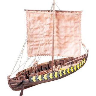Dušek Vikingská loď Gokstad 1:72 kit