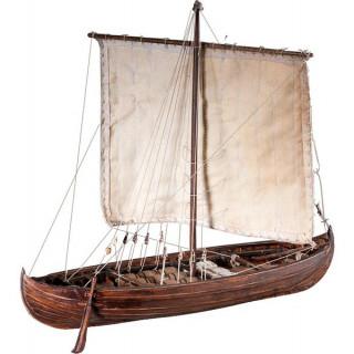 Dušek Vikingská loď Knarr 1:72 kit