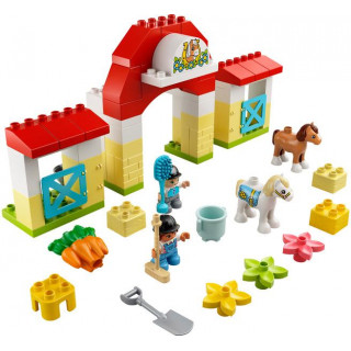 LEGO DUPLO - Koňská stáj a poník