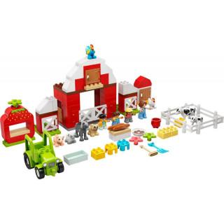 LEGO DUPLO - Stodola, traktor a zvířátka z farmy