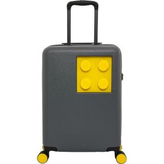 """LEGO Luggage Cestovní kufr Urban 20"""" - šedý/žlutý"""