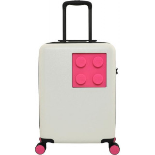 """LEGO Luggage Cestovní kufr Urban 20"""" - bílý/fialový"""