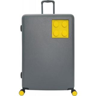 """LEGO Luggage Cestovní kufr Urban 24"""" - šedý/žlutý"""