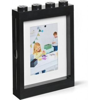 LEGO fotorámeček černý