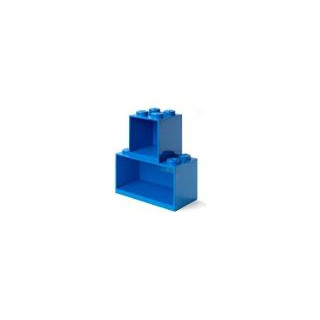 LEGO Brick závěsné police modré, set 2ks