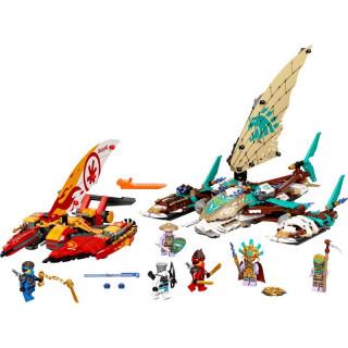 LEGO Ninjago - Souboj katamaránů na moři