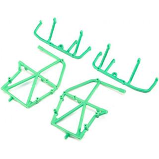 Losi boční rám, spodní vzpěra, zelená: LMT