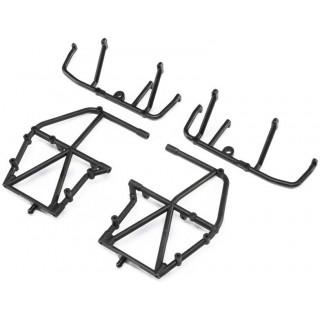 Losi boční rám, spodní vzpěra, černá: LMT