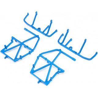 Losi boční rám, spodní vzpěra, modrá: LMT