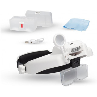 Lightcraft zvětšovací brýle Professional s LED osvětlením (set)