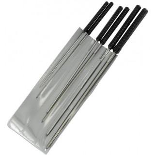 Modelcraft precizní čtyřhranný výstružník 1.2-3.0mm (sada 6ks)