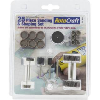 Rotacraft brousící stopkové nástroje (sada 25ks)