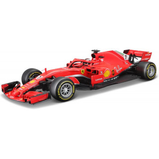 Bburago Ferrari SF70-H 1:18 NO7 Raikkonen