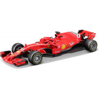 Bburago Signature Ferrari SF71-H 1:43 NO7 Raikkonen